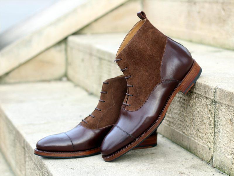 Vlad Alexandru brown Oxford Cap Toe Boots
