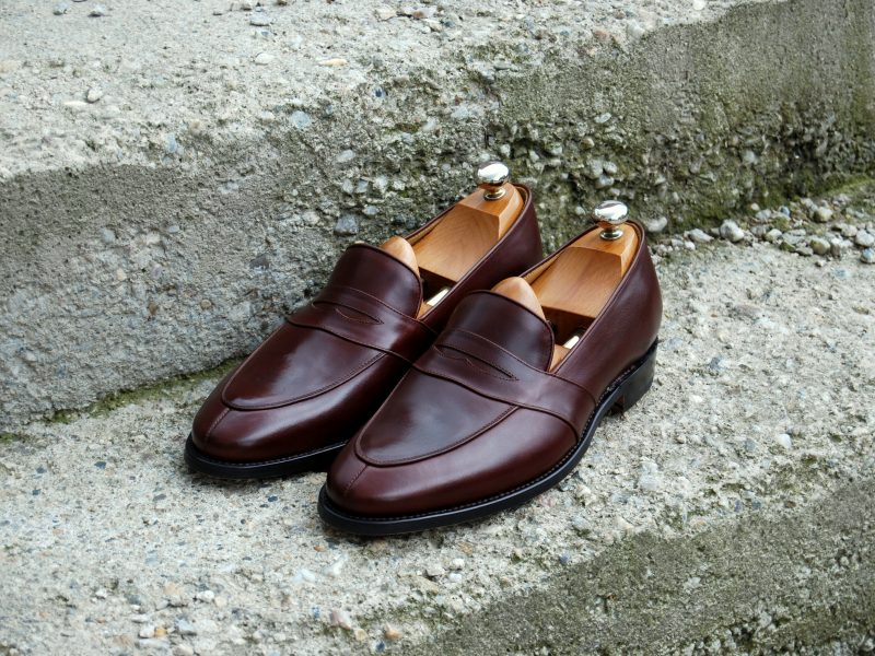 Vlad Alexandru dark brown Penny Loafer