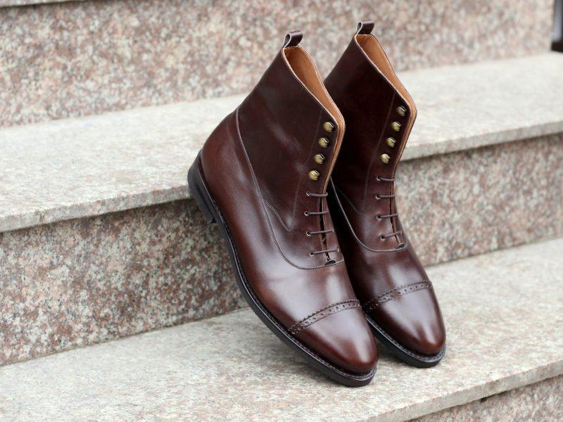 Vlad Alexandru Balmoral Boots brown