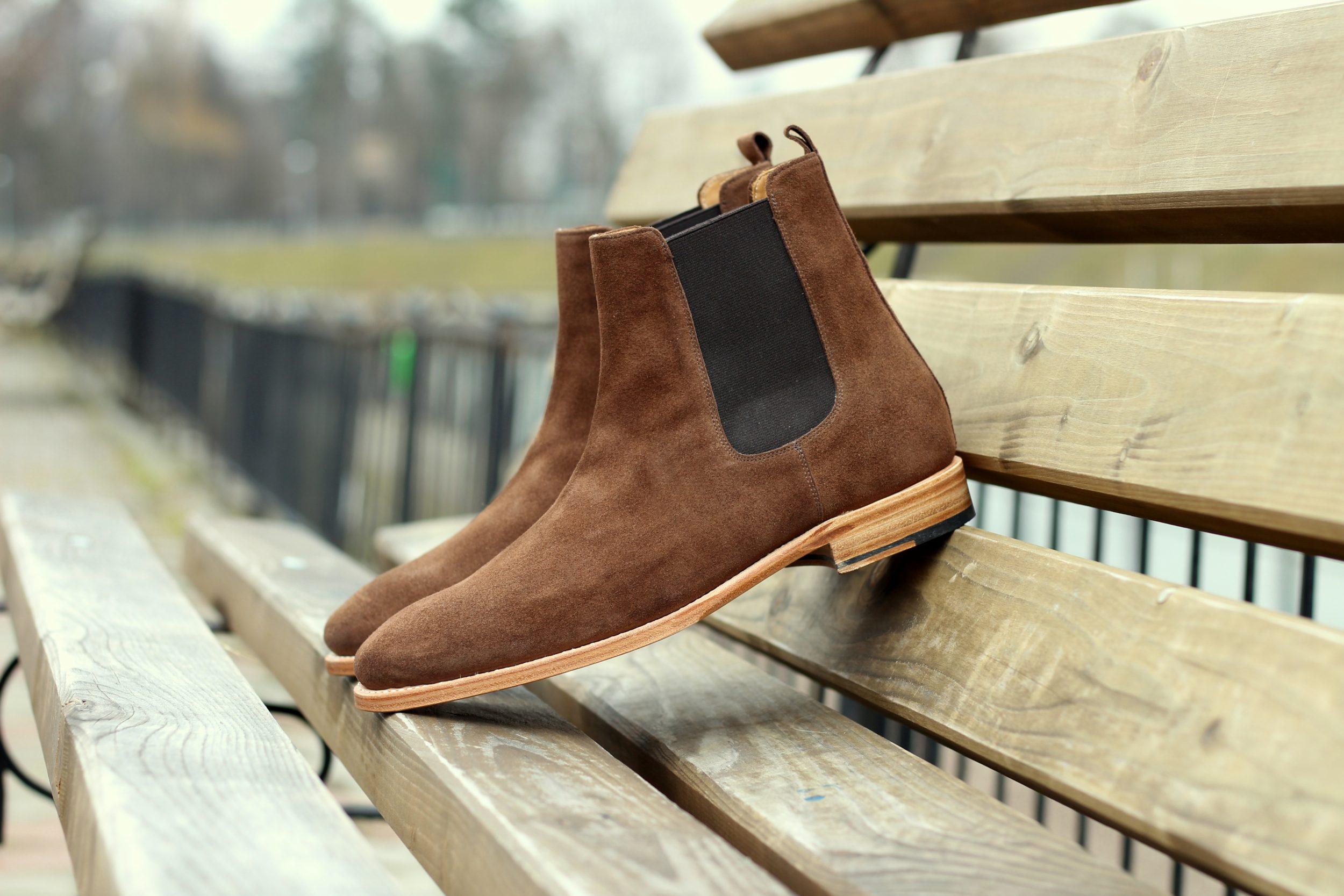 Vlad Alexandru suede Chelsea Boots