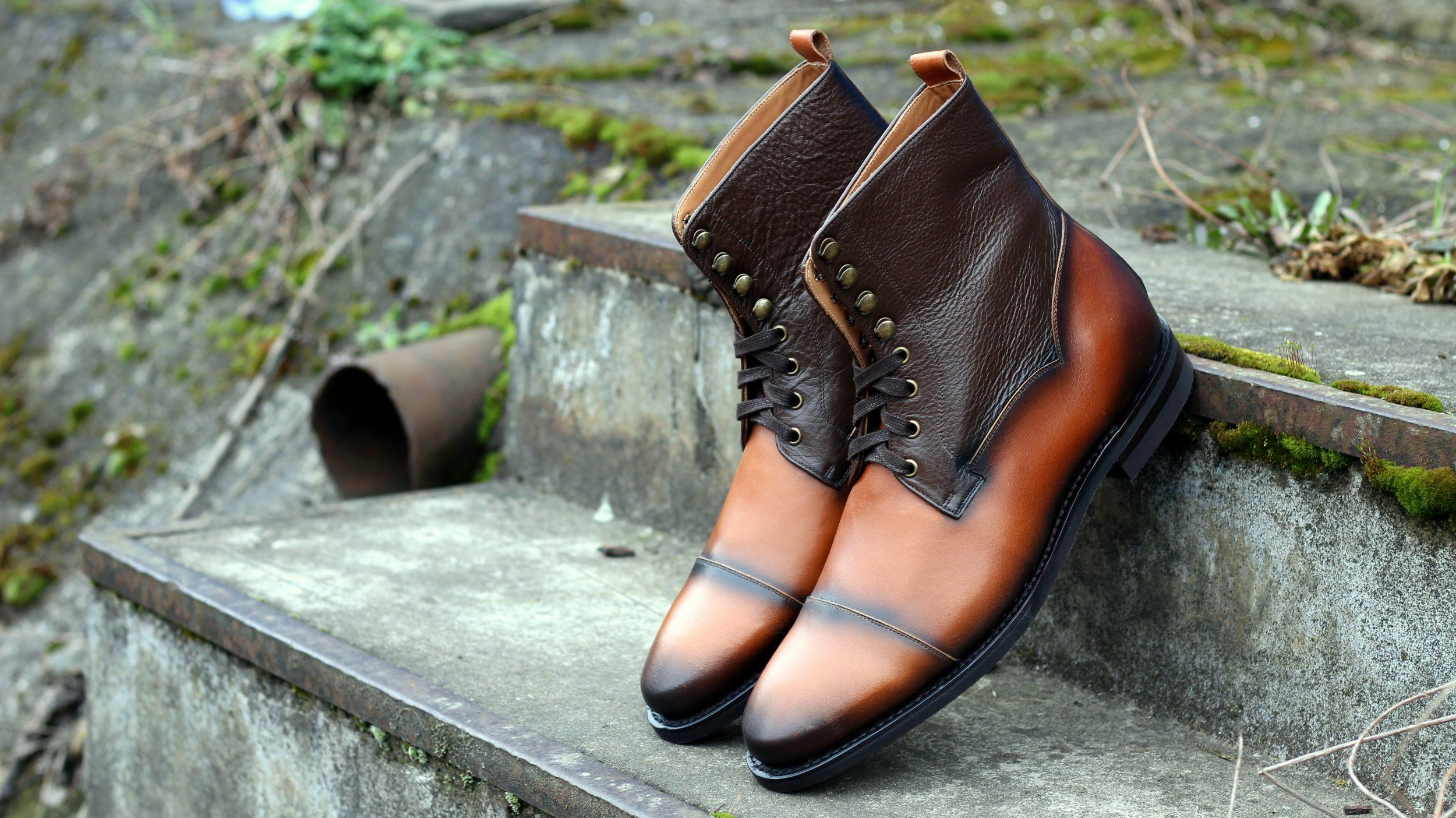 Vlad Alexandru nappa Cap Toe Derby Boots