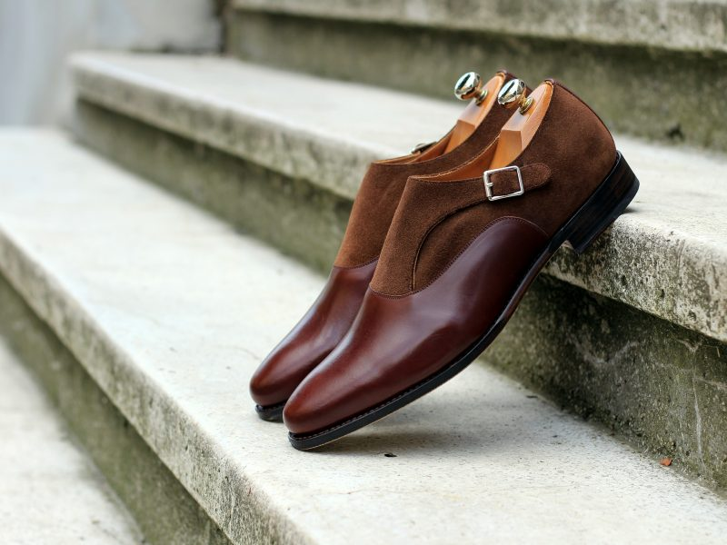 Vlad Alexandru Single Monk Strap brown