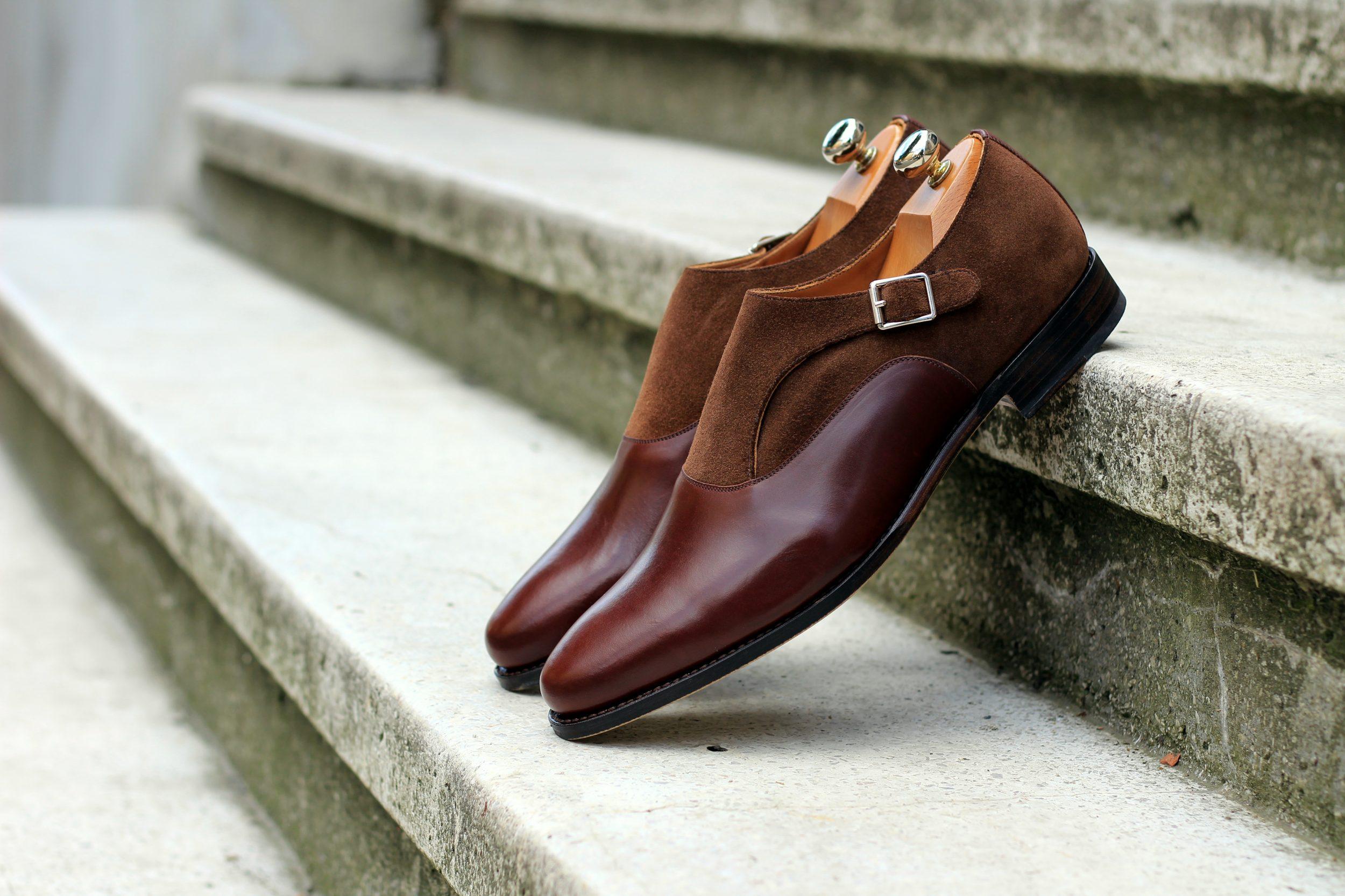 Vlad Alexandru Single Monk Strap brown