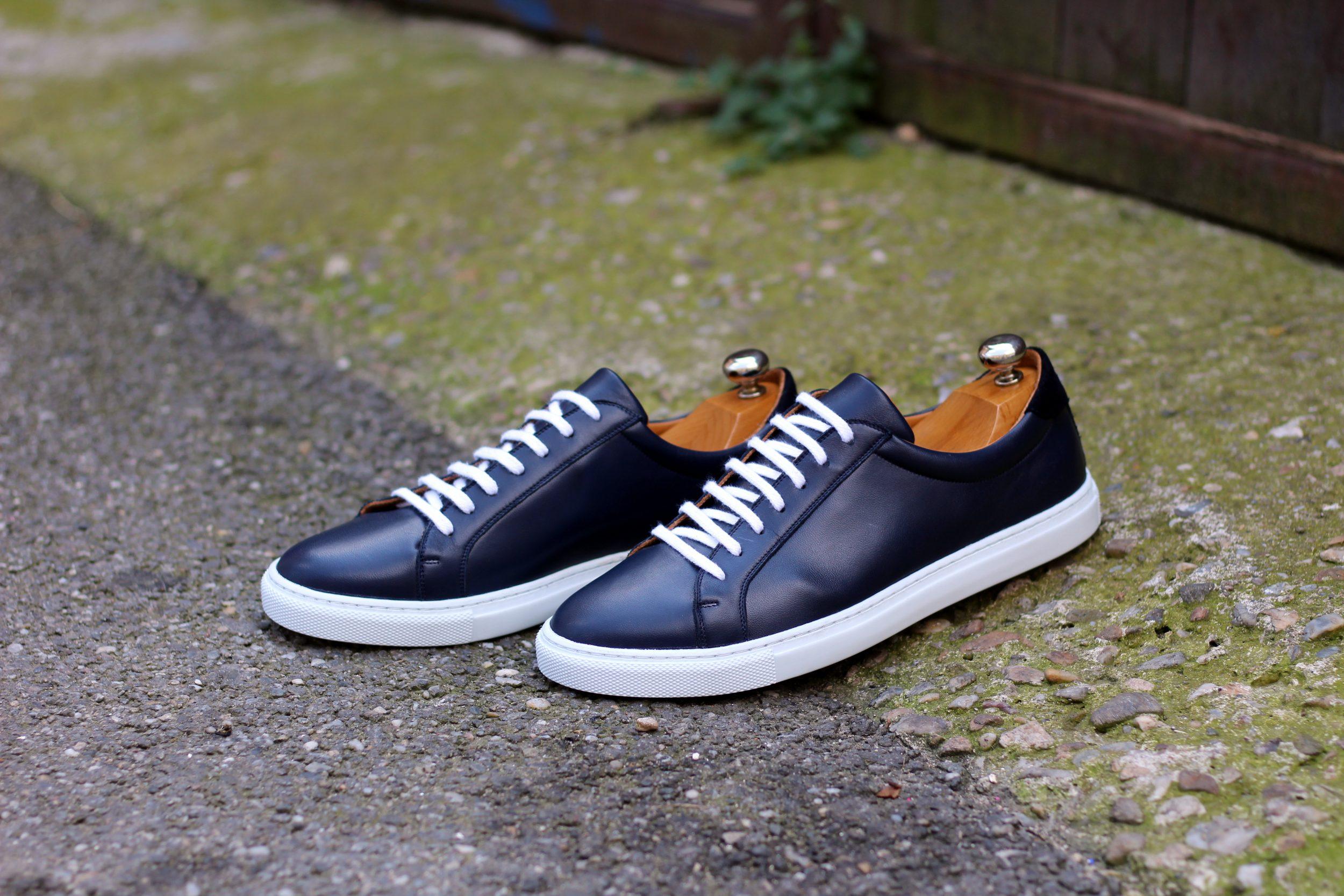 Vlad Alexandru cobalt calf Sneakers