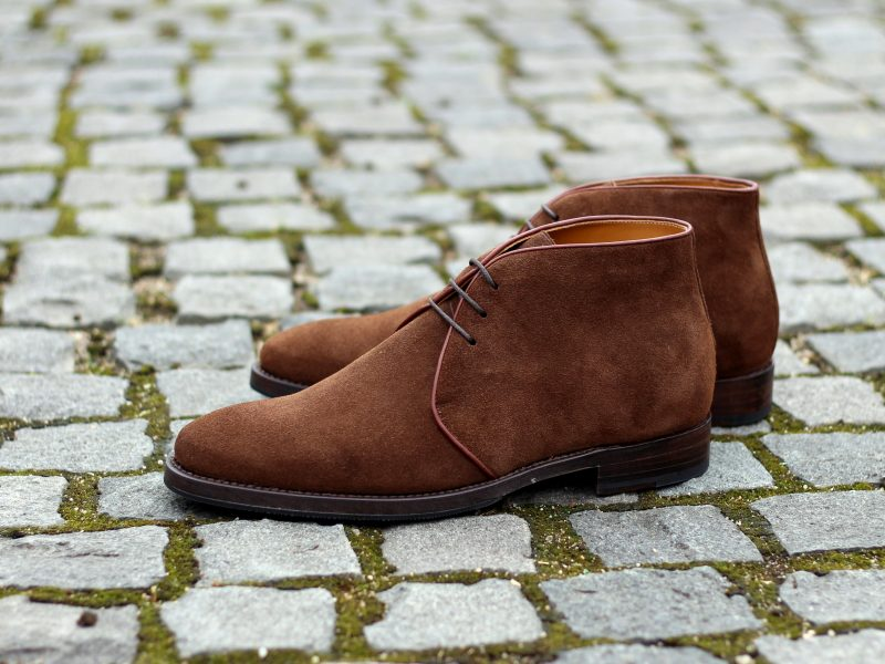Vlad Alexandru brown suede Chukka Boots