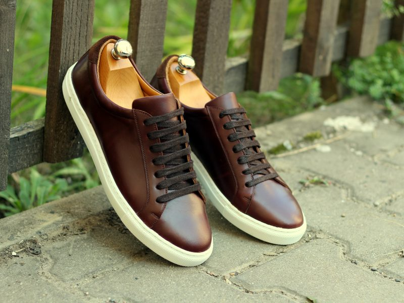 Vlad Alexandru Medium brown calf Sneakers