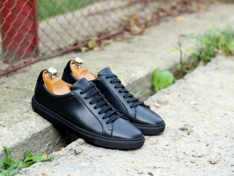 Vlad Alexandru Black calf Sneakers