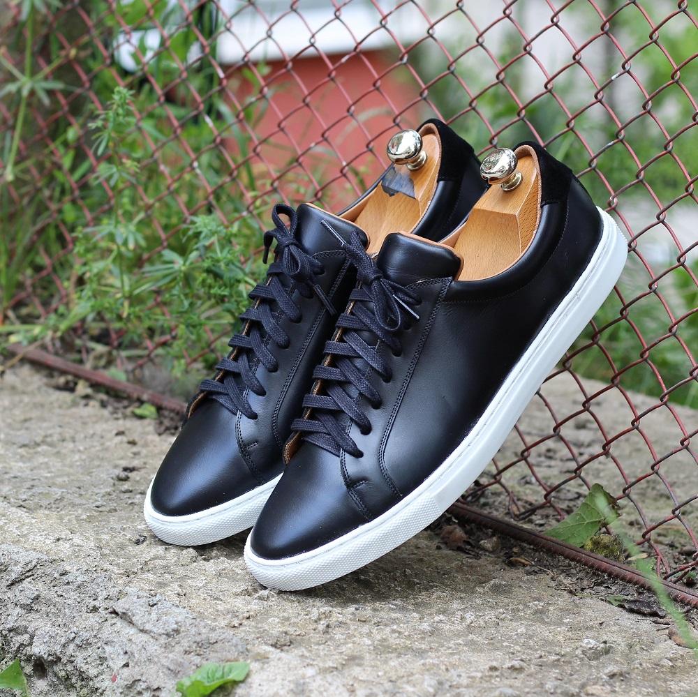 Vlad Alexandru black and white sneakers
