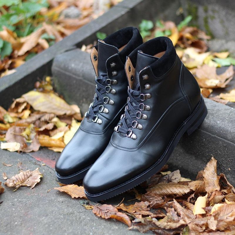 Vlad Alexandru black City Hiker Boots