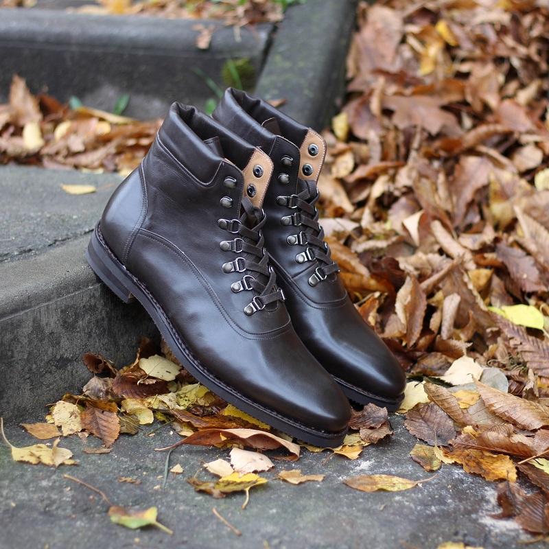 Vlad Alexandru brown City Hiker Boots