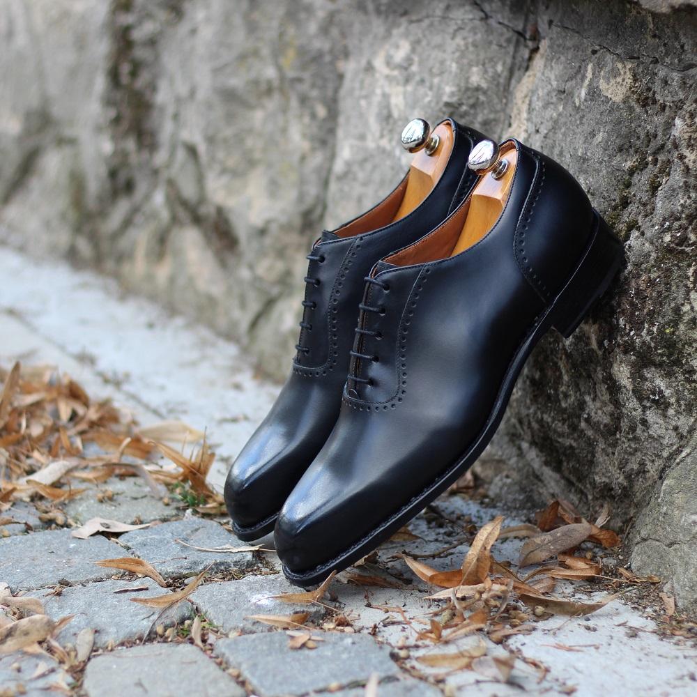 Vlad Alexandru black calf Adelaide Oxford