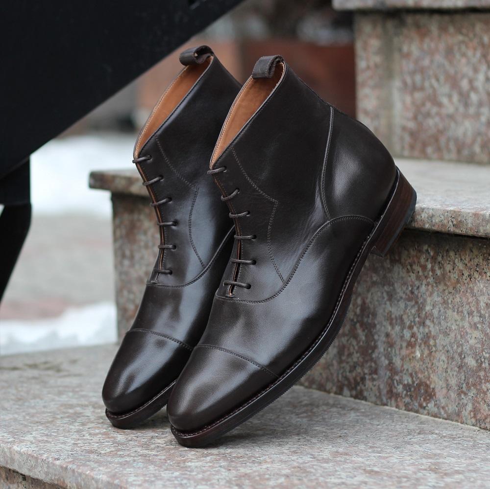 Vlad Alexandru Dark Brown Oxford Boots