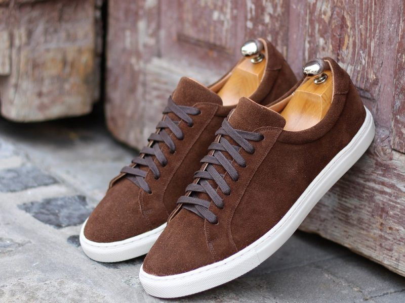 Vlad Alexandru brown suede Sneakers