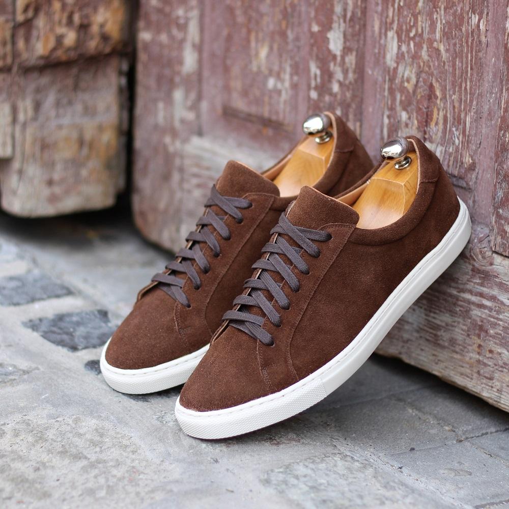 Vlad Alexandru brown suede Sneakers