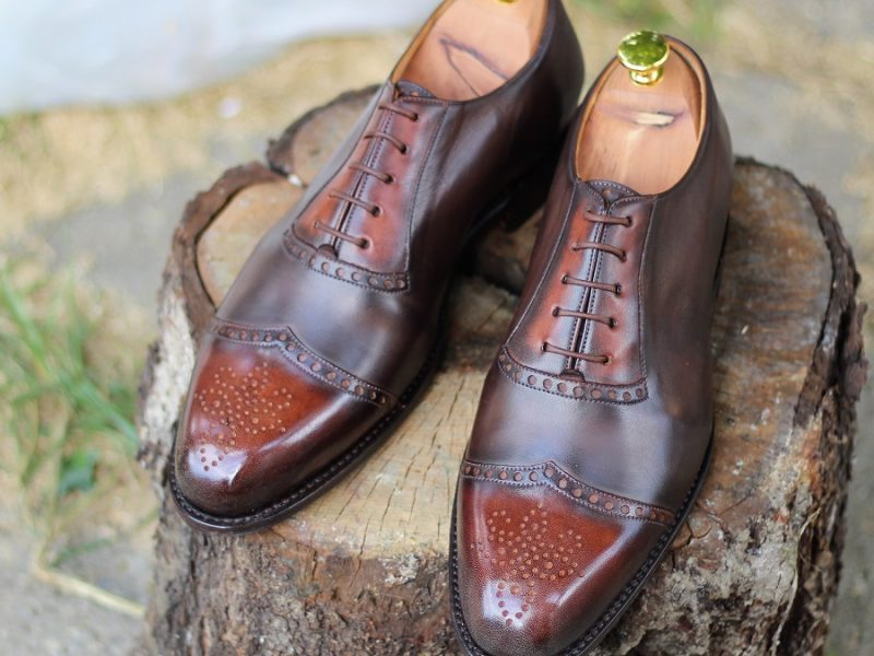 Vlad Alexandru Adelaide mocha brown patine